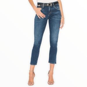Citizens of Humanity Elsa Mid Rise Slim Crop Jeans